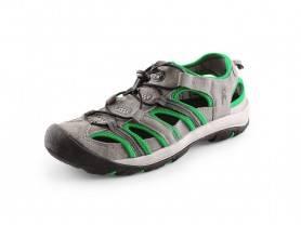 CXS SAHARA Sandále, zelené