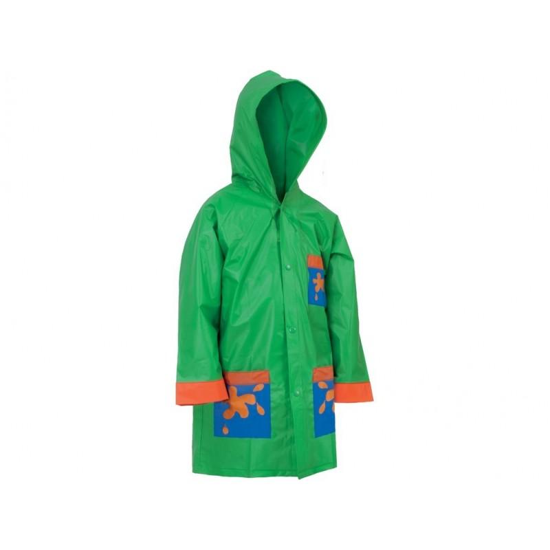 CXS FROGY Detská pláštenka, zelená