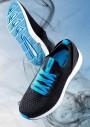 ARDON FRESIA BLUE Vychádzková obuv, čierno/modrá