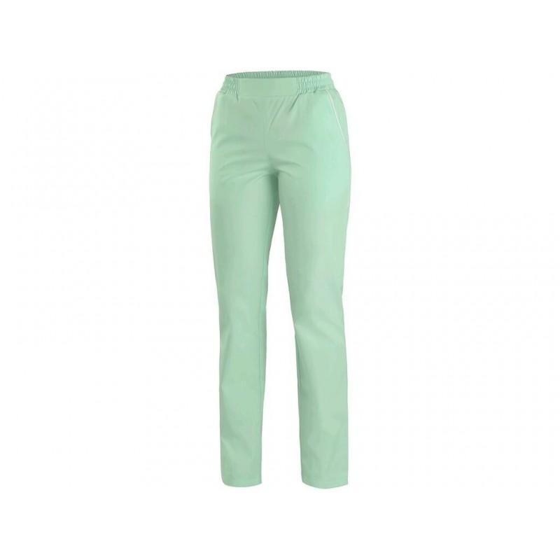 CXS TARA Dámske nohavice, zelené