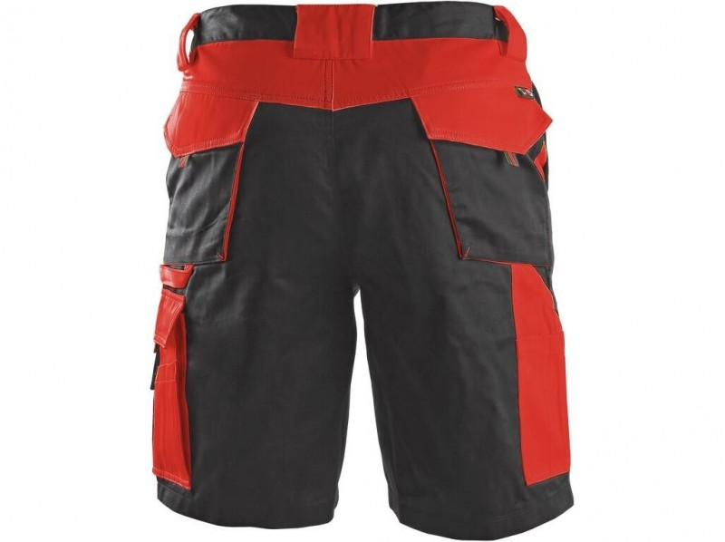 CXS SIRIUS BRIGHTON Pánske šortky, sivo-červené