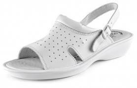 CXS WHITE LIME Dámske sandále, biele