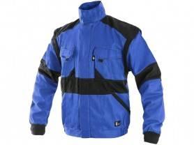 CXS LUXY HUGO Pánska zimná blúza, modro/čierna